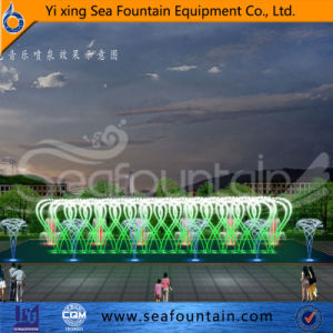 LED Light Interactive Various Water Type Multimedia Music Fountain pictures & photos