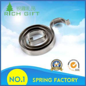 Flat Metal Torsion Volute Springs or Stainless Steel Coil Spiral Springs Supplier pictures & photos