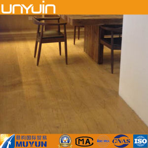 Glue Down Indoor Wood Vinyl Floor Tile pictures & photos
