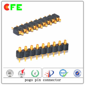 9pin Single Row Pogo Spring Loaded Contact Pins pictures & photos
