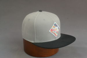 Wool/Acrylic Flat Brim Snapback Hat pictures & photos