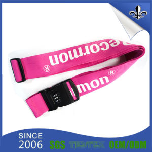 Factory Direct Sale Custom Polyester Luggage Belt with Your Logo pictures & photos