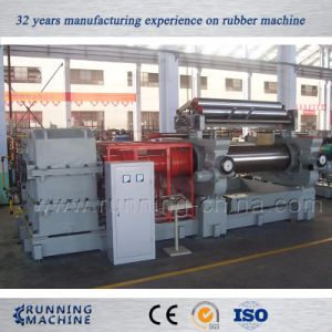Two Roll Rubber Open Mixing Mill Machine pictures & photos