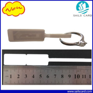 PVC Paper RFID Anti-Theft Security Jewelry Tag with Logo pictures & photos