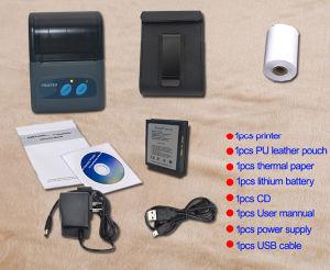 Hot Seller Mini Portable Mobile Bluetooth Printer pictures & photos