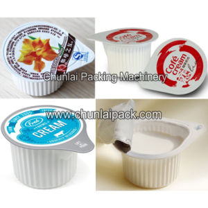 Coffee Whitener Cup Filling Sealing Machine pictures & photos