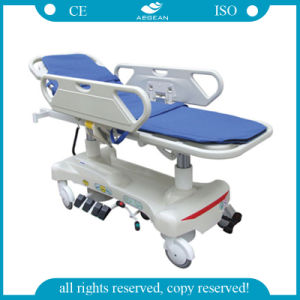 AG-HS010 ISO Ce Qualified Advanced Hospital Patient Transport Stretcher Prices pictures & photos