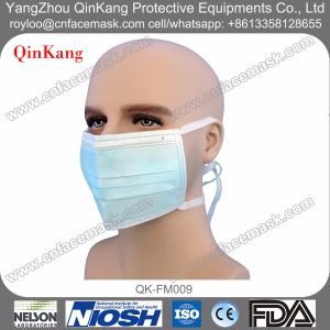 Disposable Nonwoven Procedure Face Mask with Tie on pictures & photos