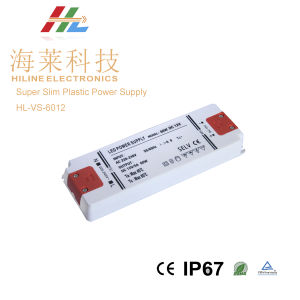 IP20 Super Slim Plastic Power Supply 60W pictures & photos