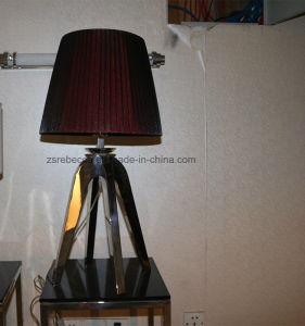 Decorative Red Fabric Bedsides Bedroom Lighting pictures & photos