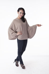 Ladies′ Cashmere Sweater, Women Clothing pictures & photos