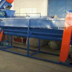 PE PP HDPE Film Recycling Machine