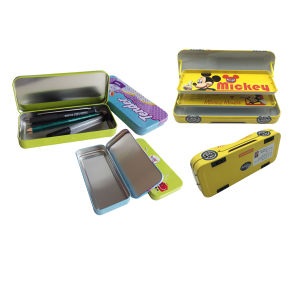 Kids Gift Student Pencil Box Tin Pencil Case for Promotion pictures & photos