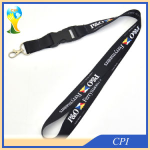 Nice Sublimation Black Lanyard for Australian Cruise Company pictures & photos
