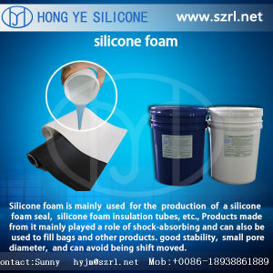 Silicone Foam Rubber Styrofoam Foaming Silicone Foamed Rubber pictures & photos