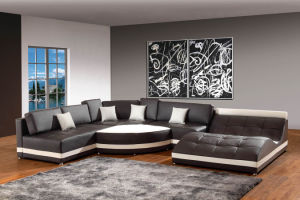 Home Furniture Corner Sofa for Living Room Leather Sofa, Modern Sofa Set with Sectional pictures & photos