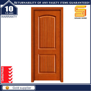 Solid Wooden Panel Interior Composite Wood PVC Leminated Door pictures & photos