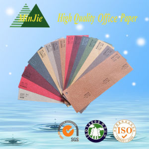 Customized Pattern Embossed Texture Decorative Color Paper pictures & photos