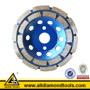 Diamond Double Row Grinding Cup Wheel for Concrete & Stone pictures & photos
