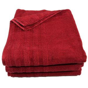 100% Cotton Yarn Dyed Bath Towel Sets with Satinborder pictures & photos
