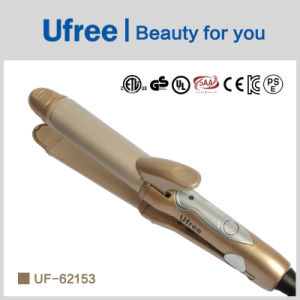 Ufree Mini Curling Wand Wholesale Travel Hair Curler and Straightener 2 in 1 pictures & photos