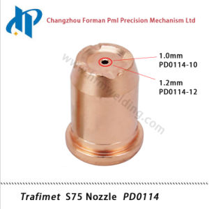 Trafimet S75 Plasma Cutting Torch Consumables Kit Nozzle Pd0114 pictures & photos