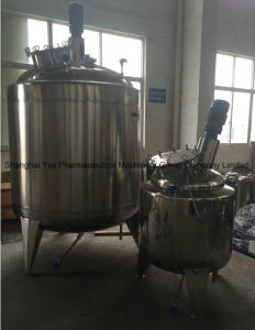Stainless Steel Mixing Tank Reactor Ss304 1500L pictures & photos