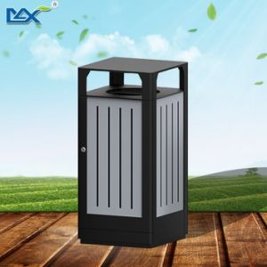 Stainless Steel Street Rectangular Trash Bin pictures & photos