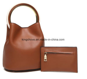 PU Ladies Handbag Set (KCHA031) pictures & photos