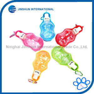 Dispenser Foldable Travel Drinking Feeder Dog Water Bottle pictures & photos
