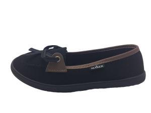 Latest Women Cloth Shoes Canvas Shoes for Fashion pictures & photos