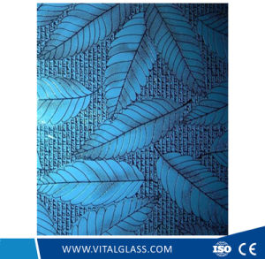 Decorative Patterned Glass Used for House Construction pictures & photos