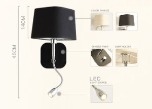 Hotel Popular LED Reading Wall Lamp Light Lighting for Bedside pictures & photos