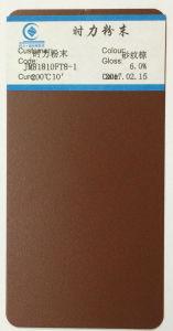 Jm81810FT8-1 Metallic Brown Shinning Brand Powder Coating Powder Paint pictures & photos