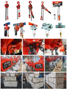 Kixio 3ton Building Industrial Manual Chain Block with Overload Clutch pictures & photos