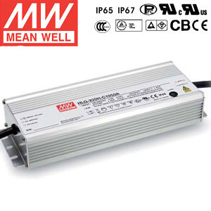 Meanwell 320W Constant Current LED Driver HLG-320H-C1050