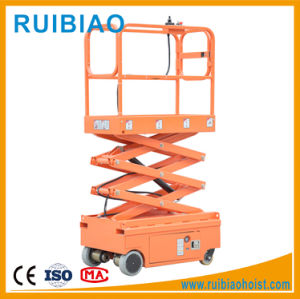 3meter Small Proved Self Propelled Full Electric Scissor Lift Ce pictures & photos