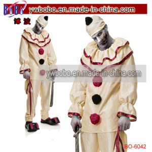 Halloween Horror Clown Carnival Circus Fancy Dress Twisty Costume (BO-6042) pictures & photos