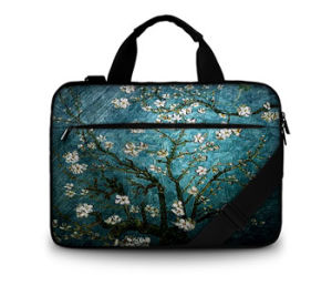 Van Gogh 2017 Fashion Huado Canvas Laptop Sleeve Bag Computer Bag with Customer Design pictures & photos