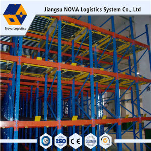 Nova Steel Heavy Duty Gravity Pallet Racking pictures & photos