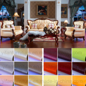 Wooden Fabric Sofa for Living Room Furniture (992D) pictures & photos