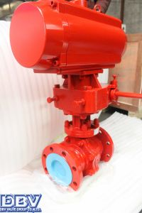 Dbv Pneumatic Cryogenic Ball Valve pictures & photos