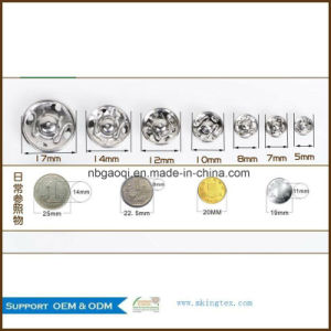 Good Shinning Excllent Bright Metal Press Stud Buttons, Press Button pictures & photos