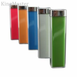 Promotion Mobile Phone Battery Charge Portable Power Bank with 2600mAh pictures & photos