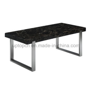 Modern Outdoor Rectangle Working Table with Metal Leg (SP-GT439) pictures & photos