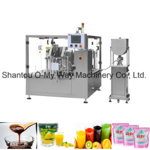 Juice Liquid Pouch Premade Packing Machine for Filling Machine pictures & photos