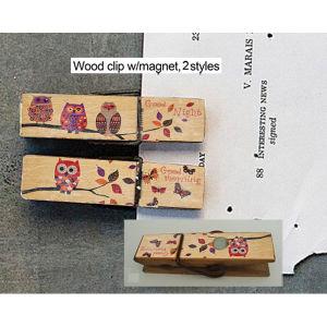 Flower Small Wood Crafts Clip of Wooden Art Home Decorations pictures & photos