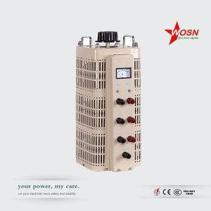 Tsgc2-3kVA Three Phase Variable Transformer Voltage Regulator pictures & photos