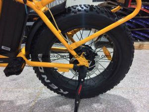 20 Inch Fast High Power Fat Tire Folding Electric Bicycle with Throttle pictures & photos