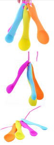 Soft Silicone Baby Spoons for Feeding pictures & photos